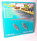 triang minic P676 harbour barges ships 1.1200 scale diecast model