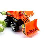 Plastic Mini Excavator Construction Tractor Vehicle Digging Truck Toy