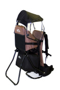 MONTIS MOVE, back carrier, child carrier up to 25 kg, 2180 g, BROWN