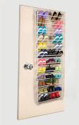36 Pair Over The Door Hanging Shoe Rack 12 Tier Shoe Rack Organiser Stand