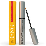 BANG Eyelash Growth Serum - With Organic Argan Oil, Biotin & Peptides - For Thicker, Longer Lashes Fast - 2 Month Supply