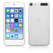 BNBUKLTD® Clear Silicone Gel Case & Screen Guard For iPod Touch 6 6G 6th Generation Gen