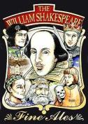 William Shakespeare Metal Postcard