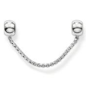 Thomas Sabo Ks0004 - 585-12 Karma Silver Stopper Beads Safety Chain