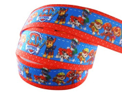 2m x 22mm NICK JR PAW PATROL GROSGRAIN RIBBON FOR BIRTHDAY CAKE'S, WEDDING CAKES, GIFT WRAP WRAPPING MOTHERS DAY