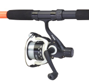 FLADEN UNIVERSAL 25 to 50g Telescopic Spinning Fishing Rod and CHARTER II Reel Combo for Sea and Freshwater Use