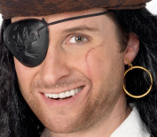 Smiffy's Eyepatch with Gold Earring