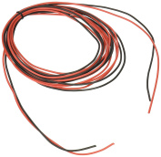 BNTECHGO 20 Gauge Silicone Wire 6M [3M Black And 3M Red] High Temperature Resistant Soft and Flexible 20 AWG Silicone Wire 100 Strands of Tined Copper Wire