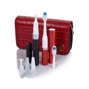 Violife Samantha Brown Slim Sonic Toothbrush and Slim Uno Manicure Travel Set