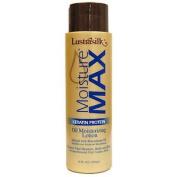 Lustrasilk Moisture Max Keratin Protein Oil Moisturising Lotion Infused with Macadamia Oil 12oz/355ml