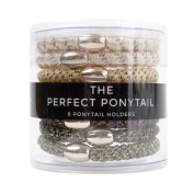 Perfect Ponytail Hair Ties - Gold