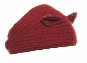 Crystal Chrysanthemum Knit Winter Headband
