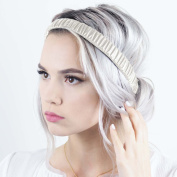 Scrunch Headband - Bone