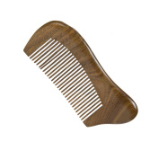 Casualfashion Anti-static Anti-hair Loss Hair Care Comb, Handmade Green Sandalwood Wood Comb with Aromatic Sell