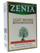 Zenia Organic Henna Hair Colour Light Brown 100g