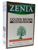 Zenia Organic Henna Hair Colour Golden Brown 100g