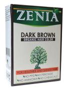 Zenia Organic Henna Hair Colour Dark Brown 100g