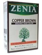 Zenia Organic Henna Hair Colour Copper Brown 100g