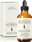 Ultra Pure Tea Tree Oil (Australian) - 100% Pure with 45% terpinen-4-ol, 30ml