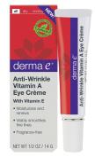 derma e Anti-Wrinkle Vitam A Eye Creme 15ml