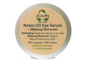 Calm Natural Skin Care - Neem Oil Anti-Ageing Eye Serum + Eye Makeup Remover - UniSex, 30ml