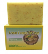 Lemon Exfoliating Complexion Soap For Men & Women, 210ml ~Free Gift With Order~