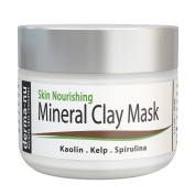 Healing Clay Mud Mask for Deep Pore Cleansing - Best Face Mask for Acne, Oily Skin & Blackheads - Reduces Wrinkles & Minimises Pores - Organic and Natural Skin Cleanser & Therapeutic Spa Mask - 60ml