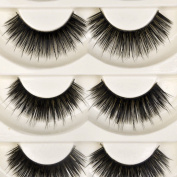 CCBeauty 5 Pairs Long Thick Cross False Eyelashes Eye Lashes Extension,#5