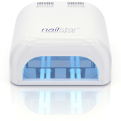 NailStar™ 36 Watt Professional UV Nail Dryer Nail Lamp for Shellac and Gel with 120 and 180 Second Timers + 4 x 9W Bulbs Included