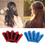 TOPWEL 2PCS Twist Braid Sponge Hair Braider Hair Braiding Machine DIY Hair Tool