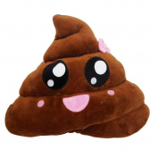 Sandistore Emoji Emoticon Key Chain Soft Toy Gift Pendant Bag Accessory (Throwing Kiss)