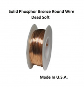 Modern Findings (TM) Solid Phosphor Bronze 0.1kg. Round Wire (Dead Soft)