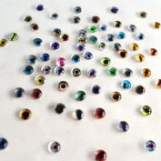 Bulk Lot of 20 6mm Random Overstock Glass Doll Eyes