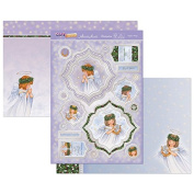 Hunkydory Crafts Cute Christmas Angel's Wings Topper Set
