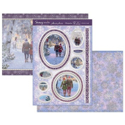Hunkydory Crafts Snowy Season Christmas Couple Topper Set Topper Set