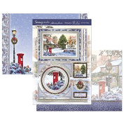 Hunkydory Crafts Snowy Season Winter Villiage Topper Set