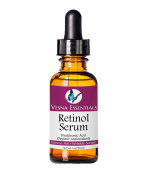 Retinol Serum - 72% ORGANIC - The BEST Clinical Strength Retinol Anti Ageing Moisturiser for Wrinkle Care - Non-Medical - Enhanced Age-Spot, Dark Circle, and Skin Care Serum for Face and Body - SATISFACTION GUARANTEED