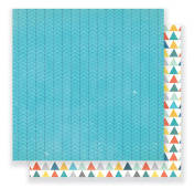 American Crafts Crate Paper Cool Kid 30cm x 30cm Patterned Paper (25 Pack), Brothers