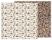 American Crafts Pebbles Patterned PB JH Warm & Cosy Paper, Arrows