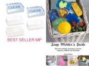 Best Seller Melt & Pour Soap Base Sampler Kit by Crafter's Choice - Contains Ten Different Soaps, 9.1kg in Total, with Cybrtrayd Soap Moulder's Guide