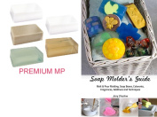 Premium Melt & Pour Soap Base Sampler Kit by Crafter's Choice - Contains Eight Different Soaps, 7.3kg in Total, with Cybrtrayd Soap Moulder's Guide