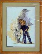 Boy and Horse cross stitch kits, 14ct, Egypt cotton thread 200*205stitch,46*48 cm cross stitch kits