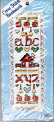 The New Berlin Co Counted Cross Stitch Lace Bookmark Kit No.2184