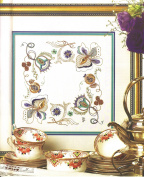 Goldwork Peppermint Dream Needlework Embroidery Kit