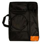 US Art Supply Black Nylon Art Portfolio Carry Bag, (Size
