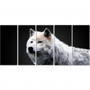 Digital Art PT2329-401 Wonder of the Wolf Large Animal Canvas Art