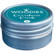 Woodies Dye-Based Ink Tin-Carribean Creek