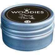 Woodies Dye-Based Ink Tin-Deep Dark