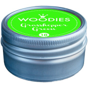 Woodies Dye-Based Ink Tin-Grasshopper Green