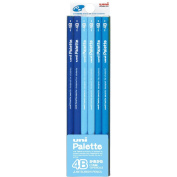 pencil Uni palette writing pencil 4B pastel blue K55604B